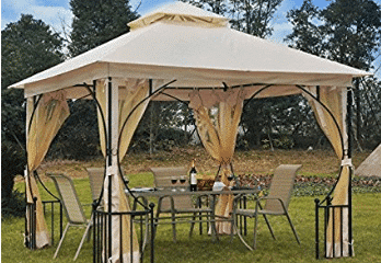 Generic O-8-O-4292-O ter W/N Garden Patio arty Sh Gazebo Canopy o Weddi 10 x 10 Garden Wedding Party Shelter