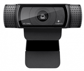 Logitech HD Pro Webcam C920, Widescreen Video Calling and Recording