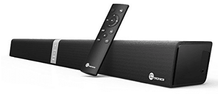Soundbar, TaoTronics Sound Bar Wired and Wireless Bluetooth Audio ( 40 Watt Speaker