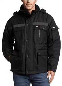 Caterpillar Men's Heavy Insulated Parka, Parka Jackets for Men