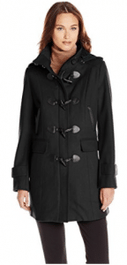 Tommy Hilfiger Women's Missy Wool-Blend Duffle Coat