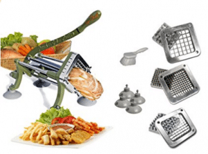 TigerChef TC-20562 Heavy Duty Potato French Fry Cutter Complete Set, Commercial Quality