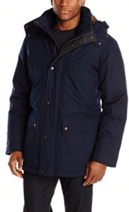 Cole Haan Men's Brushed Flannel Parka, Parka Jackets for Men