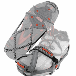 Yaktrax Run Traction Cleats for Running on Snow and Ice - Ice Traction Cleats