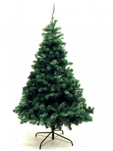 Xmas Finest 6' Feet Super Premium Artificial Christmas Pine Tree With Solid Metal Legs