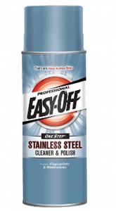 Easy-Off Professional Stainless Steel Cleaner & Polish - Grill Cleaners