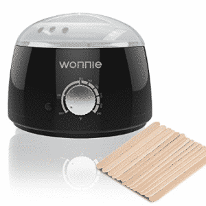 WONNIE Hair Removal Wax Warmer Pot Electric Hard Wax Beans Melts Machine