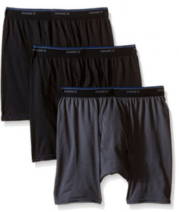 Hanes Men's ComforSoft Boxer Brief 3-Pack