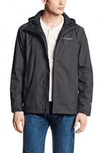 Columbia Men's Watertight II Front-Zip Hooded Rain Jacket,  Columbia Jackets for Men