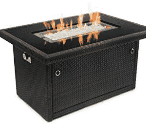 Outland Fire Table, Aluminum Frame Propane Fire Pit