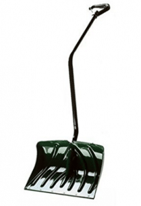 Suncast SC3250 18-Inch Snow Shovel/Pusher Combo with Ergonomic Shaped Handle And Wear Strip