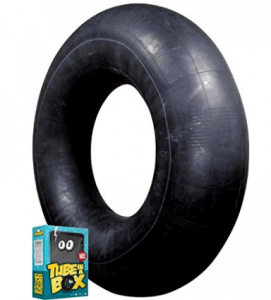 Tube in a Box, Original and Best Swim and Snow Inner Tube - Snow Tubes