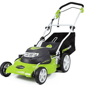 GreenWorks 25022 12 Amp Corded 20-Inch Lawn Mower, Push Lawn Mowers