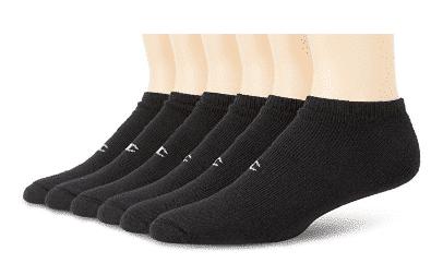 Champion Men's 6 Pack No Show Socks - Men's Ankle Socks