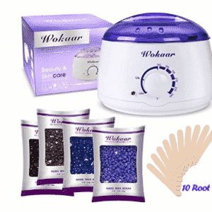 Rapid Melt Hair Removal Waxing Kit Electric Hot Wax Warmer