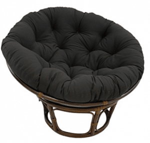 "Blazing Needles Solid Twill Papasan Chair Cushion, Papasan Chair Cushionss 48"" x 6"" x 48"""