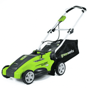 GreenWorks 25142 10 Amp 16-Inch Corded Lawn Mower - Best Push Lawn Mowers