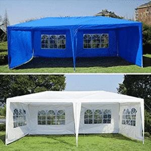 Generic O-8-O-4247-O w/ Side Gazebo Pavilion Pavilio Tent Patio tio Gaz Outdoor 10'x20' Canopy arty Te w/ Sidewalls - Wedding Canopy