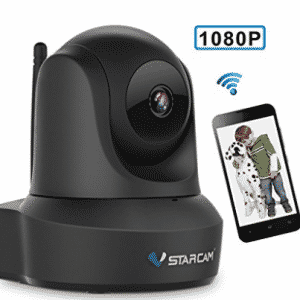 Network Wireless IP Camera, VStarcam IP Cam 1080P WiFi Video Surveillance Monitor for Indoor