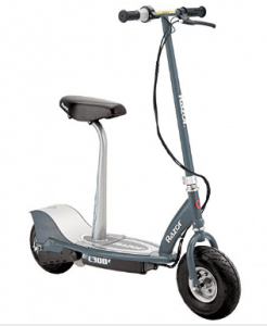 Razor E300S Seated Electric Scooter - Electric Scooter with seats