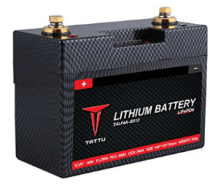 Tattu LiFePO4 12V 51.2Wh Motorsport Street Bike, Best Scooter Batteries