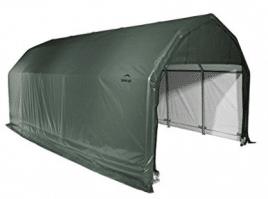 ShelterLogic 90154 Green 12'x24'x11' Barn Shelter