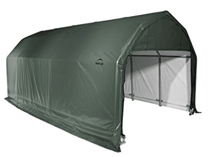 ShelterLogic 90154 Green 12'x24'x11' Barn Shelter