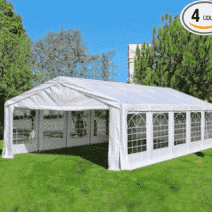 Quictent 32x16' Heavy Duty Carport Party Wedding Tent Canopy Gazebo Car Shelter