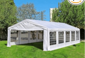 Quictent 32x16' Heavy Duty Carport Party Wedding Tent Canopy Gazebo Car Shelter
