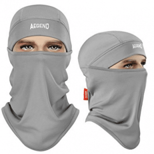 Balaclava, Aegend Ski Face Mask Polyester Fleece for Women Men - Winter Face Masks