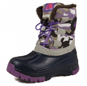 Nova Mountain Little Kid's Winter Snow Boots - Boys Snow Boots