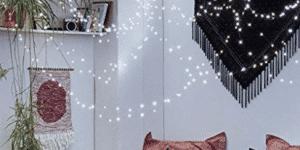 Cool White String Light,CrazyFire 33ft 100 LEDs Wire LED String Light