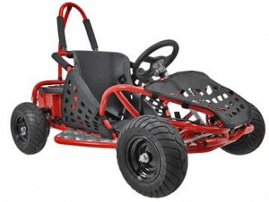 MotoTec MT-GK-01 Red Off Road Go Kart - Off Road Go Karts 48V