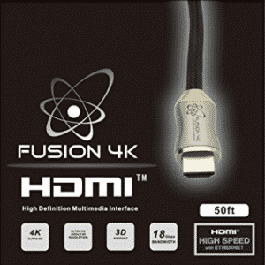 Fusion4K High Speed 4K HDMI Cable - Professional Series (50 Feet)