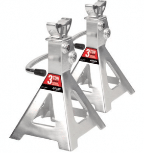 Arcan Aluminum Jack Stands - 3-Ton Capacity, Pair, Model# AJS3T
