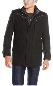 Marc New York by Andrew Marc Men's Libert Wool Four-Pocket Coat