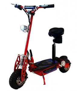 Super Turbo 1000 Watt Elite 36V Electric Scooter - Electric Scooter with seats