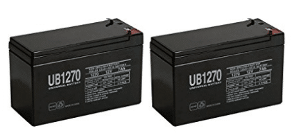SLA BATTERY,12V,7AH,RAZOR SCOOTER E300S