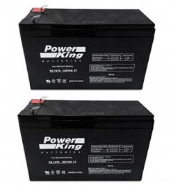 12V 7AH Sealed Lead Acid SLA Battery for RAZOR Scooter - Electric Scooter Batteries 2PK