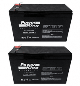 12V 7AH Sealed Lead Acid SLA Battery for RAZOR Scooter - Electric Scooter Batteries 2PK