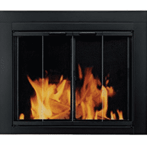 Pleasant Hearth AT-1001 Ascot Fireplace Glass Door