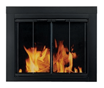 Pleasant Hearth AT-1001 Ascot Fireplace Glass Door, Fireplace Inserts