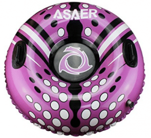 ASAER Snow Tube - Air Tube 39 Inch Inflatable Snow/Sled with Rapid Valves