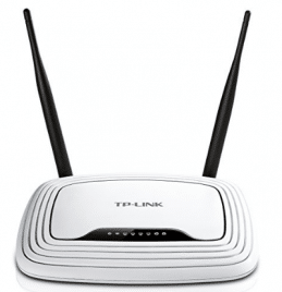 TP-Link N300 Wireless Wi-Fi Router, Up to 300Mbps