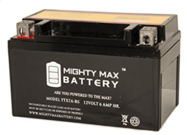YTX7A-BS Battery Replacement for GTX7A 32X7A 44023 CTX7A Battery - Electric Scooter Batteries