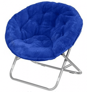 Mainstays Faux-Fur Saucer Chair Papasan Chair Cushions