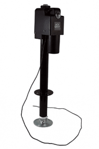 Jack Quick 3500 JQ-3500B 12V Electric Tongue Jack with single Lights, 3650 lb