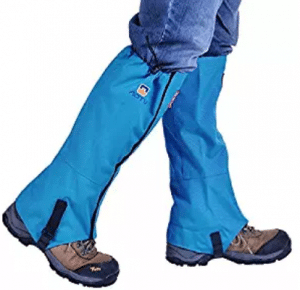 Winis Snow Gaiters Hiking Camping Mountain Climbing Leg Gaiters Oxford Waterproof