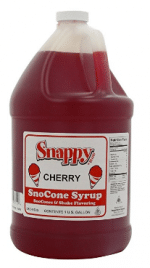 Snappy Popcorn Snappy Snow Cone Syrup, Cherry