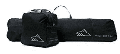 High Sierra Snowboard Sleeve and Boot Bag Combo- Snowboard Bags